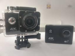 Filmadora 4k para capacetes e bicicletas
