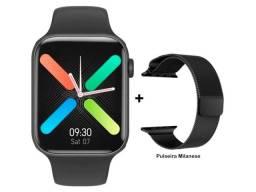 Novo Smartwatch Iwo K8 tela infinita Grátis 1 Pulseira Extra Metálica