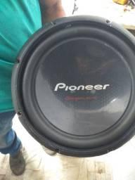 """Boca de 12"""" Pioneer 1400 W R$ 290 reais"""