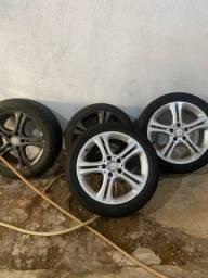 Vendos rodas com pneus