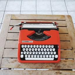 Hermes Baby Maquina de escrever antiga - antiguidade