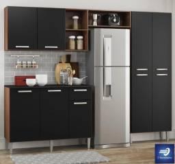 Cozinha com Balcão 9 Portas e 1 Gaveta #FreteGRÁTIS* #Novo #Lacrado
