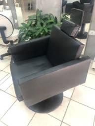 Cadeira hidráulica salão de beleza