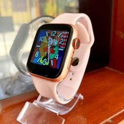 Smartwatch X7 Iwo faz ligação + Pulseira Brinde metal