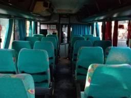 Ônibus rodoviário.