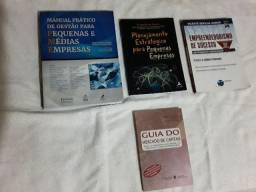 """Kit Livros Empreendedorismo e Pequenas empresas - """"usados"""""""