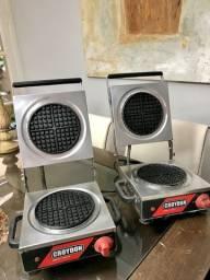 Máquina de Waffle profissional