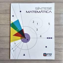 Livro Síntese Matemática FTD p/ Vestibulandos