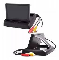 Monitor Automotivo 4,3'' Tela Retrátil Lcd Tft Veicular