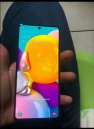 Samsung A71 128 gigas cinza fosco
