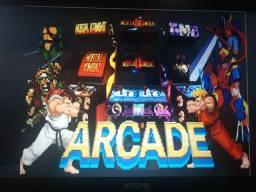 Sistema arcade com 80 jogos