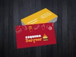 Pacote design para hamburguerias e lanchonetes