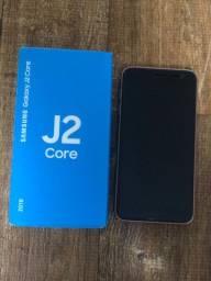 Galaxy J2 Core Novo na caixa