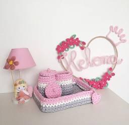 Kit decoração quarto bebê infantil