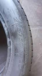 2 pneus 255/50/20 Michelin em bom estado