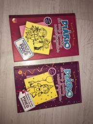 2 livros diário de uma garota nada popular