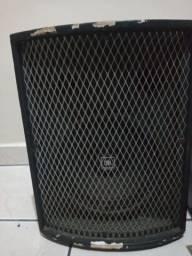 Sistema de som ( mesa de som, amplificador e caixa acústica)