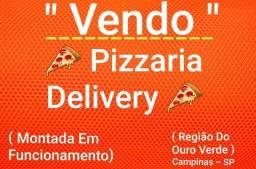 Pizzaria Delivery Montada Em Produção - Forno a Lenha