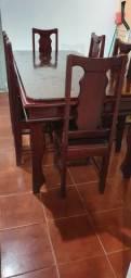 Vendo Mesa com cadeiras e Mesa decorativa
