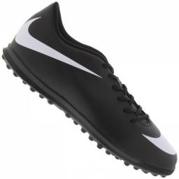 Chuteira Nike Bravata 2 Tf Society Sintética Preta Original