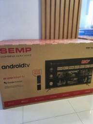 Smart TV Semp 50 4k lacrada | Nota Fiscal