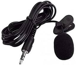 Microfone de lapela (Produto novo)