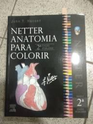Livro anatomia para colorir