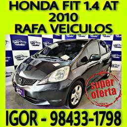 HONDA FIT 1.4 AT FLEX 2010 ENTRADA A PARTIR DE 3.000,00! FALAR COM IGOR s