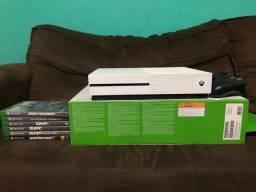 Xbox One s 200 jogos 2.200, reais