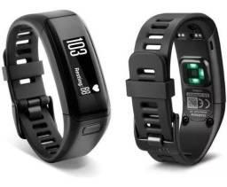 Relógio Garmin VívoSmart HR Preto com Monitoramento Cardíaco