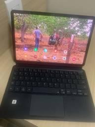 Tablet Samsung S7 com capa e teclado