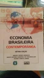 """Livro """"Economia brasileira contemporânea"""" 7a ed. Usado"""