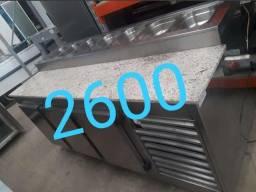 Condimentadora refrigerada semi nova JM equipamentos