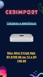 Mac Mini 512gb 8gb Chip M1 Lacrado