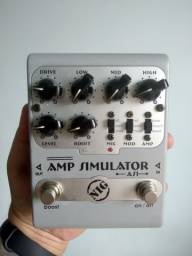 Pedal de Guitarra - Amp Simulator NIG - AS1