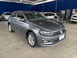 VW - VOLKSWAGEN Polo POLO COMFORT 1.0 TURBO 200 TSI AUTOMÁTICO 2018 CINZA