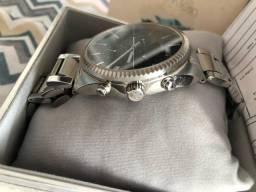 Relógio Calvin Klein com caixa e nota novíssimo