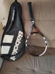 Raquete de tênis Babolat com capa
