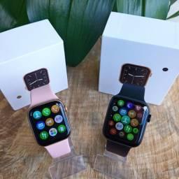 Smartwatch Iwo w26 Preto/rose Chamdas Bluetooth oferta!!!