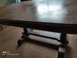 Mesa linda , 2x130 ..madeira de lei, com 4 careiras
