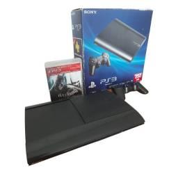 Título do anúncio: Sony Playstation 3 Super Slim 250gb Cor Black