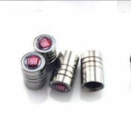 Válvulas do pneu de cobre com logotipo