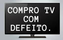 C0MPR0 TV com defeito SMART LED LCD PLASMA