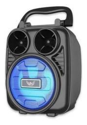 Caixa Som Portátil Bluetooth Altomex Al-1185 Alta Qualidade