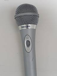 Microfone Philips Pouco Uso