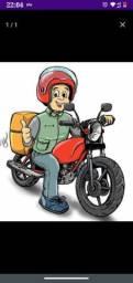 Motoboy disponível para entregas na parte da manhã até às 22:00 hrs