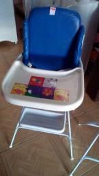 Cadeira alimentação Azul cm cintos n cintura