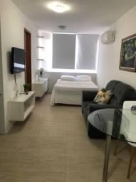 flat mobiliado,rua mamanguape,30m2 - 1500 com taxas!! boa viagem