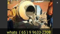 betoneira concreto Concretagem pedreiro