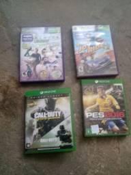 Vendo 4 jogos 2 de Xbox one e 2 Xbox 360
